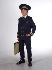 Kinderkostüm Pilot, Kinderfasching,Karneval,Kinderparty