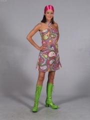 70er Jahre Partykleid Themen Schlager Mottoparty