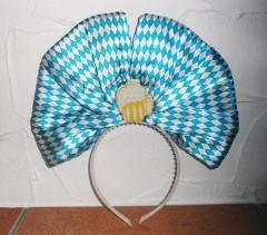 Oktoberfest Bayrischer Abend Wiesn Kopfschmuck Bayern Kopfschleife