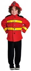 Feuerwehrjunge Feuerwehrmann Jacke Fasching Karneval Fastnacht Kinderf