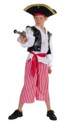 Pirat Junge Kostüm Verkleidung Faschingskostüm Kinderfest Karneval