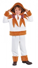 Eskimo Kinderverkleidung Kostüm Faschingsparty Karneval Kinderfest