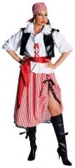 Piratendame Seeräuberkostüm Faschingsverkleidung Damenkostüm Party