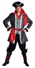 Pirat scary Herrenkostüm Faschingsverkleidung Seeräuber Hochseepirat