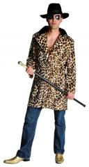 Leopardenmantel Lude Partymann Proll Macho 70er 80er Jahre
