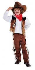Cowboy Kinderkostüm Wilder Westen Faschingsverkleidung Kinderparty