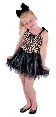 Pussy Cat Kleid Kinderkostüm Mädchenverkleidung Kinderparty Fasching