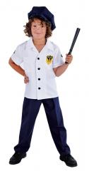 Police Boy Polizist Kinderkostüm Faschingsverkleidung Kinderparty