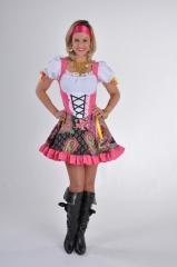 Zigeunerin Damenkostüm Verkleidung Mottoparty Kostümfest Fasching