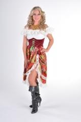 Zigeunerin Damenkostüm Damenkleid Verkleidung Kostümfest Fastnacht