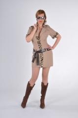 Safari Girl Partykostüm Faschingsverkleidung Mottoparty Kostümfest