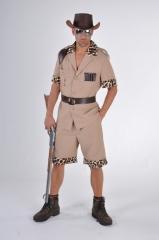 Safari Großwildjäger Kostüm