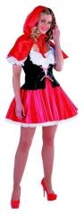 Rotkäppchen Damenkostüm Märchenkostüm Karnevalskostüm Mottoparty