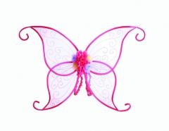 Flügel mit Blume Faschingsflügel Blumenfee Elfe Zubehör Accessoires