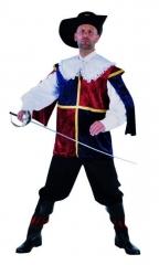 Musketier Herrenverkleidung Faschingskostüm Karnevalskostüm