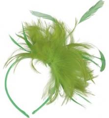 Haarreif mit Federn Haarschmuck Kopfschmuck Faschingszubehör