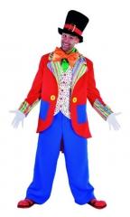 Konfetti Clown Herrenkostüm Partykostüm Kinderfest Faschingskostüm
