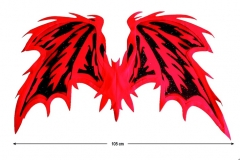 Flügel Teufel Halloween Fasching Karneval Mottoparty Accessoires Zubeh