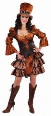 Steampunk Kleid Damenkostüm Viktorianischer Stil XS bis XXL