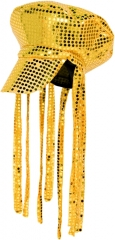Trilby Hut mit Blumen 70er Jahre Style