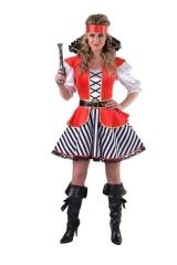 Piratin Seeräuberbraut Piratinkostüm  XS - XXL auch Übergröße
