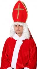 Nikolaus Mitra Bischofsmütze Sankt Nikolaus Weihnachtsmann