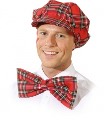 Mütze mit Schleife Clown Fasching Mottoparty Karneval Accessoire