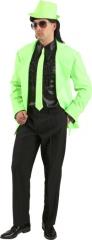 Krawatte Neonkrawatte neon 80er Jahre Party Disco Mottoparty 3 Farben