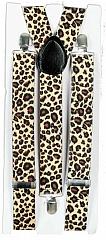 Hosenträger Zebra oder Leopard Zebrahosenträger Leopardenhosenträger