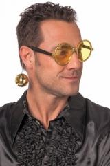 Partybrille 70er 80er 90er Jahre Disco Karneval Party
