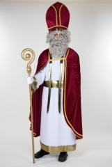 Bischof St. Nikolaus komplett Kostüm Pannesamt Deutsche Herstellung