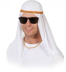 Scheichkappe Kopfbedeckung Araber Orient 1001 Nacht Fasching Zub