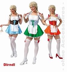 Dirndl Oktoberfest Wiesn Faschingskostüm bayrischer Abend Tracht