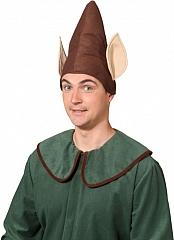 Koboldmütze mit Ohren Zwergenmütze Gnommütze Fasching Karneval
