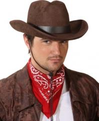 Cowboyhut John Wilder Westen Fasching Kopfbedeckung Hut Herren A