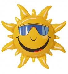 Aufblasbare Sonne Dekoartikel Strandparty Sommerparty
