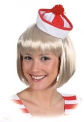 Seemann Matrose Matrosenmütze Mini Sailor Mütze blau oder rot