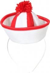 Minihut Sailor Seemann Fasching Zubehör Accessoires Kopfbedeckun