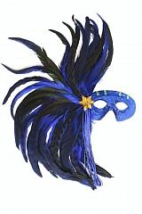 Federmaske Maskenball Kostümball Fasching Karneval