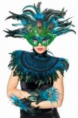 Maske Spinne Faschingsmaske Karneval Maskenball Zubehör Accessoires
