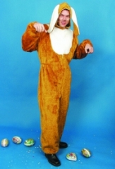 Hase Osterhase braun Kostüm Karneval Fasching