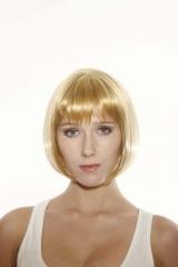 Hochwertige Pagenschnitt Perücke Victoria Farbe blond Deluxe Serie