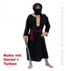Sultan Araber Emir Herr der Wüste Orient Karneval Fasching Kostüm