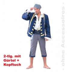 Pirat Finley Seeräuber Kostüm Karneval Fasching Party