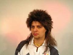 80er Jahre Vokuhila Proll Bollo Manatfahrer Karneval Party