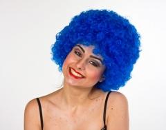 Hair Perücke blau Perücke Clown Karneval Accessoires