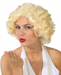 Perücke Marilyn Damenperücke 60er Jahre Star