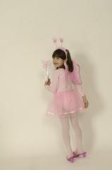Schmetterling Elfen Set für Kinder 4 tlg. Karneval