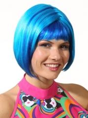 Pop Girl Perücke Partyperücke Mottoparty Fasching Kopfbedeckung