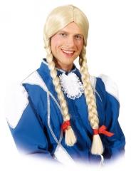 Zauberer Merlin Bart u. Perücke Karneval Fasching Party
